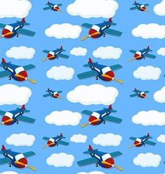 Seamless plane vector