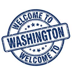 Welcome to washington vector