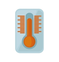 Thermometer temperature measure icon vector