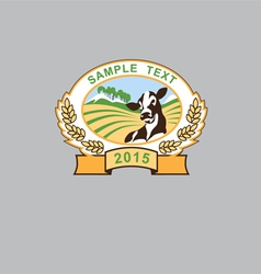 Emblem farms vector