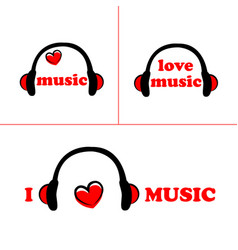 set of symbol of music vector image