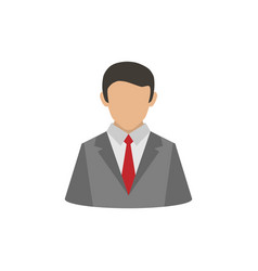 business user icon vector image
