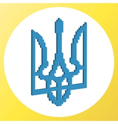 Ukrainian coat of arms vector