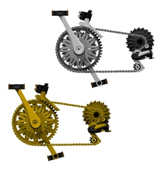 Bicycle transmission set vector
