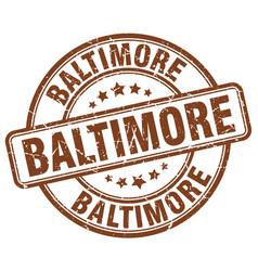 Baltimore stamp vector