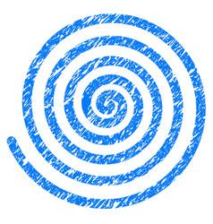 Hypnosis grunge icon vector