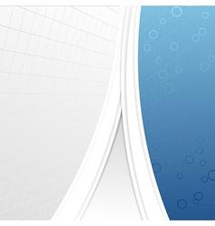 Modern business folder template - geometrical vector