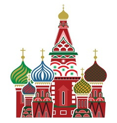 Moscow icon vector image vector image