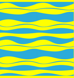Seamless patterns of abstract waves decoration vector