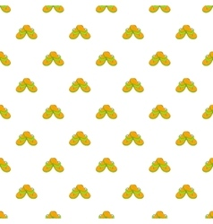 Slates pattern cartoon style vector