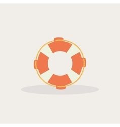 Abstract fishing object vector