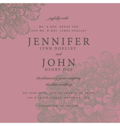 Vintage documents or invitation vector