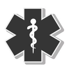 symbol medicine medical service design vector image