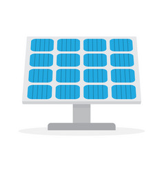 Solar panel green power technology vector