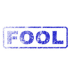 Fool rubber stamp vector