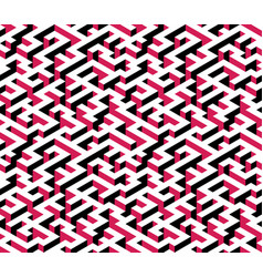 maze labyrinth - isometric endless pattern vector image vector image