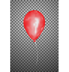 Red air balloon eps10 vector