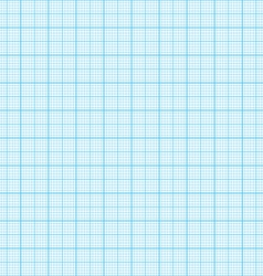 Seamless graph millimeter paper vector image vector image