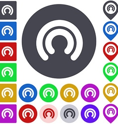 Wifi icon set vector