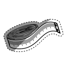 sewing tape measure vector image
