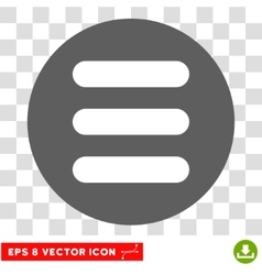 Stack round eps icon vector