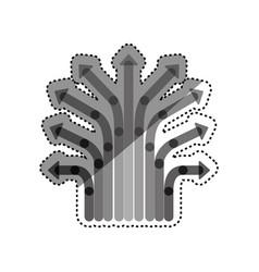 arrows and cursors vector image