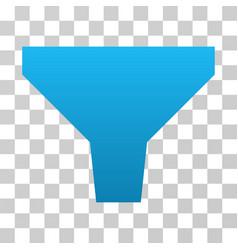 Filter gradient icon vector