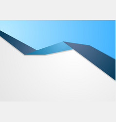 Blue abstract corporate background vector