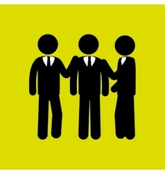 Business employee people vector