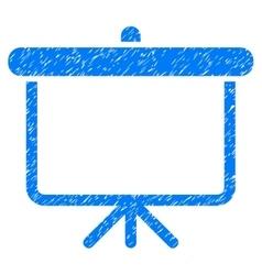 Projection board grainy texture icon vector
