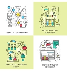 Biotechnology linear compositions vector