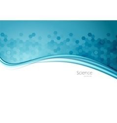 Abstract science background vector