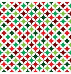 seamless pattern on a Christmas Holiday theme vector image vector image