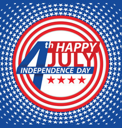 Fourth of july usa independence day vector