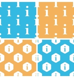 Information pattern set colored vector