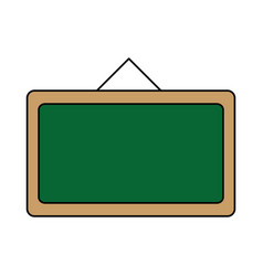 Isolated blackboard design vector