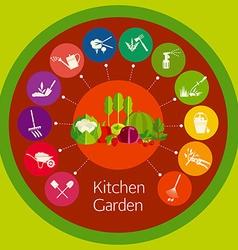 Organic cultivation vector