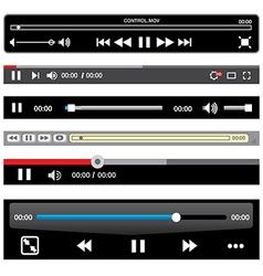 Movie Controls vector image