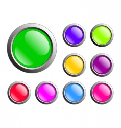 Buttons web vector