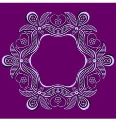 elegant design element vector image