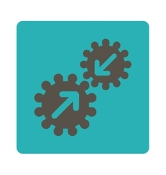 Integration icon vector