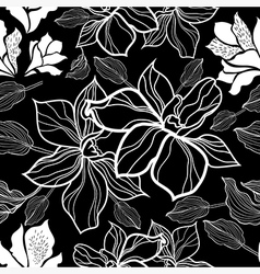Flower seamless 10 vector