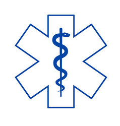 medical symbol asclepius vector image
