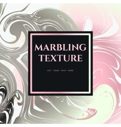 Marble pattern pink vector