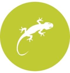 Pet lizard vector