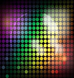 Bright Lites vector image vector image