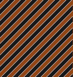 Brown black seamless diagonal stripe pattern vector