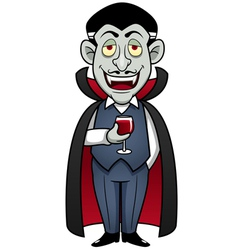 Dracula vector image