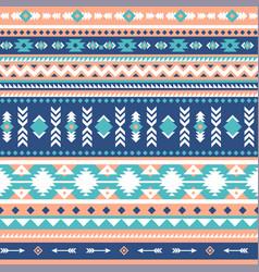 tribal seamless pattern aztec geometric vector image vector image