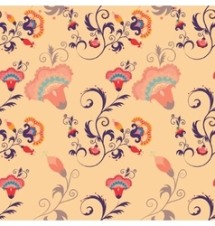 Asian seamless detailed pattern vector image vector image